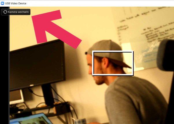 Skype Livestreaming zweite Kameraperspektive